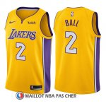 Maillot Enfant Los Angeles Lakers Lonzo Ball Icon 2017-18 2 Or