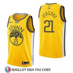 Maillot Golden State Warriors Jonas Jerebko Earned 2018-19 Jaune