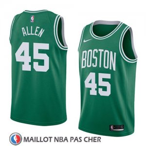 Maillot Boston Celtics Kadeem Allen No 45 Icon 2018 Vert