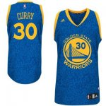 Maillot Crazy Light Leopard Warriors Curry 30 Bleu