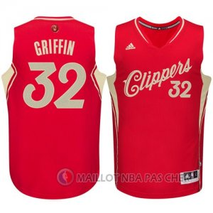 Maillot Los Angeles Clippers Griffin Noël #32 Rouge