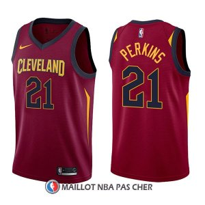 Maillot Cleveland Cavaliers Kendrick Perkins Icon 21 2017-18 Rouge