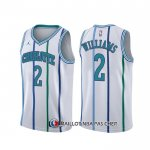 Maillot Charlotte Hornets Marvin Williams Classic Blanc