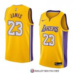 Maillot Los Angeles Lakers Lebron James 23 Icon 2017-18 Jaune