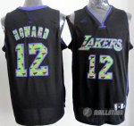 Maillot Loward Los Angeles Lakers #12 Noir