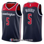 Maillot Washington Wizards Markieff Morris Statement 5 2017-18 Bleu