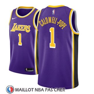 Maillot Los Angeles Lakers Kentavious Caldwell-pope Statement 2018-19 Volet