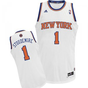 Maillot Blanc Stoudemire New York Knicks Revolution 30