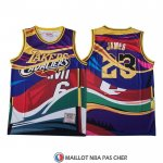 Maillot Mitchell & Ness Big Face Lebron James
