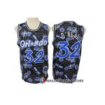 Maillot Orlando Magic Shaquille O'neal Hardwood Classics Tear Up Pack Noir