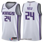 Maillot Sacramento Kings Buddy Hield Association 24 2017-18 Blanc