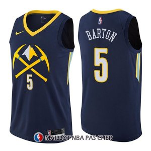 Maillot Denver Nuggets Will Barton Ciudad 5 2017-18 Bleu