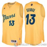 Maillot George Indiana Pacers Noel #13 Jaune