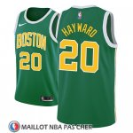 Maillot Boston Celtics Gordon Hayward Earned 2018-19 Vert