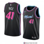Maillot Miami Heat Glen Rice Ville 2018-19 Noir