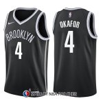Maillot Brooklyn Nets Jahlil Okafor Icon 4 2017-18 Noir