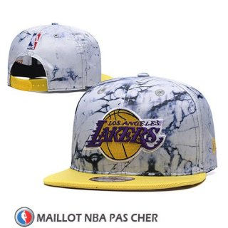 Casquette Los Angeles Lakers Snapback Jaune