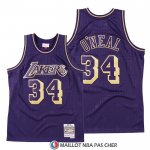 Maillot Los Angeles Lakers Shaquille O'neal 2020 Chinese New Year Throwback Volet
