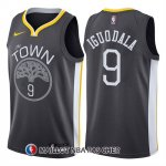 Maillot Golden State Warriors Andre Iguodala Statement 2017-18 9 Gris