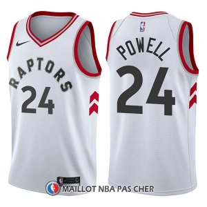 Maillot Tornto Raptors Norman Powell Association 24 2017-18 Blanc