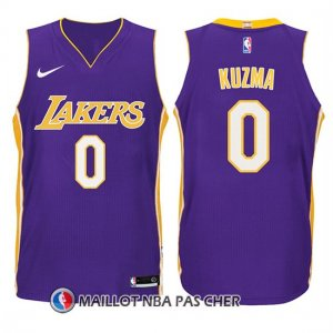 Maillot Enfant Los Angeles Lakers Kyle Kuzma Statement 2017-18 0 Volet
