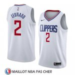 Maillot Los Angeles Clippers Kawhi Leonard Association 2019-20 Blanc