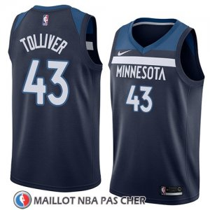 Maillot Minnesota Timberwolves Anthony Tolliver Icon 2018 Bleu