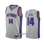 Maillot Detroit Pistons Louis King Statement 2020-21 Gris