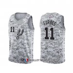 Maillot San Antonio Spurs Bryn Forbes Earned Camuflaje