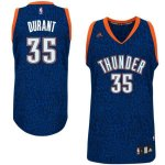 Maillot Crazy Light Leopard Thunder Durant 35 Bleu