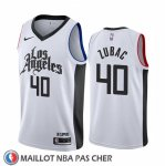 Maillot Los Angeles Clippers Ivica Zubac Ville Blanc