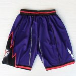 Short Retro Toronto Raptors Pourpre