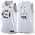 Maillot All Star 2018 Boston Celtics Kyrie Irving 11 Blanc