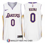 Maillot Enfant Los Angeles Lakers Kyle Kuzma Association 2017-18 0 Blanc