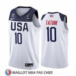Maillot USA Jayson Tatum 2019 FIBA Basketball World Cup Blanc