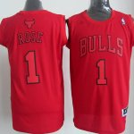 Maillot Rose Chicago Bulls #1 Rouge