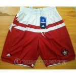 Short Rouge All Star 2016 NBA