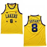 Maillot Retro 2004-05 Lakers Bryant 8 Jaune
