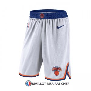 Short New York Knicks 2017-18 Blanc