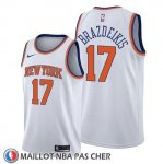 Maillot New York Knicks Iggy Brazdeikis Association 2019-20 Blanc