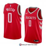 Maillot Houston Rockets De'anthony Melton 0 Icon 2017-18 Rouge
