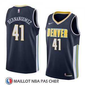 Maillot Denver Nuggets Juan Hernangomez No 41 Icon 2018 Bleu