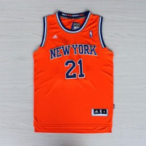 Maillot Knicks Shumpert 21 Orange Revolution 30