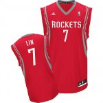 Maillot Rouge Lin Houston Rockets Revolution 30