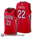 Maillot New Orleans Pelicans Derrick Favors Statement Rouge
