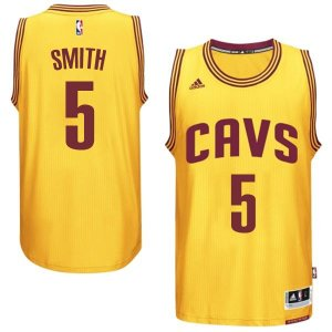 Maillot Orangee Smith Cleveland Cavaliers Revolution 30