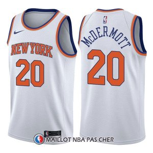 Maillot New York Knicks Doug Mcdermott Association 20 2017-18 Blanc