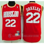 Maillot NBA Planeador Drexler Houston Rockets Rouge