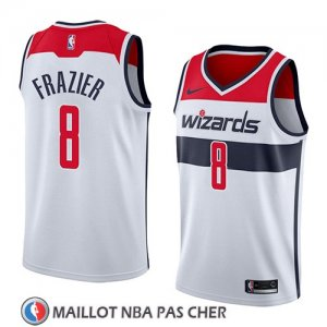 Maillot Washington Wizards Tim Frazier No 8 Association 2018 Blanc