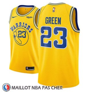 Maillot Golden State Warriors Draymond Green No 23 2018-19 Or